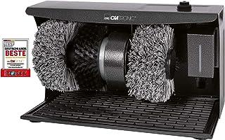 Clatronic 263944 SPM 3754 Machine à cirer 3 en 1 : Nettoyage/Entretien/Polissage, Distributeur de crème à Chaussures avec ...