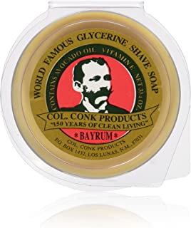 Col. Conk Bay Rum Shaving Soap 3.75 Ounce Large