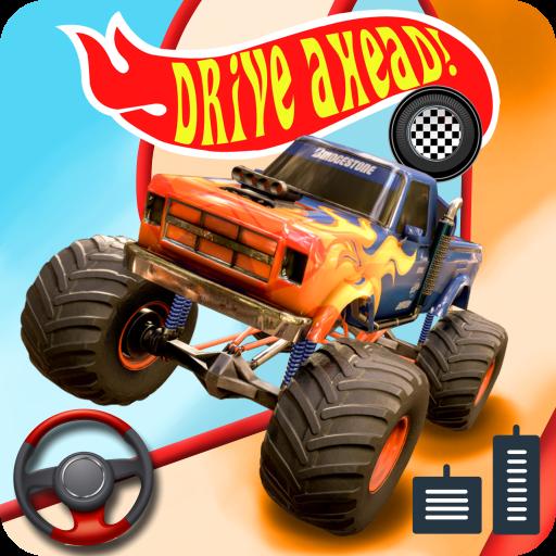 Hot wheels drive ahead race off monster truck stunts car racing drifting - euro truck simulator new game 2021