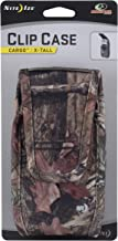 NITE IZE Clip Case Cargo, Extra Tall, Tough & Secure Cell Phone Case or Mobile Device Holster, Mossy Oak