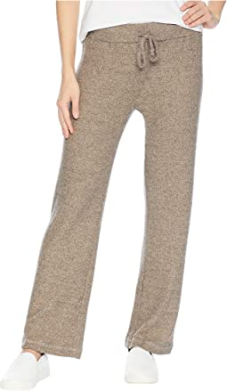 Brush Rib Drawstring Pants