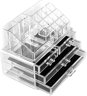 Macallen Cosmetic Make Up Clear Acrylic Organiser 20