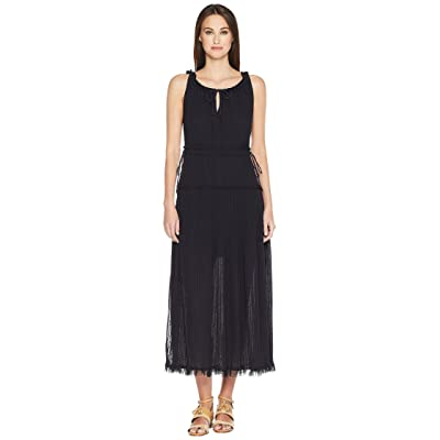 See by Chloe Lacey Jersey Maxi Dress (Ink Navy) Women