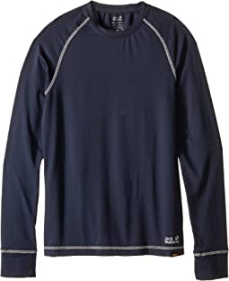 Jack Wolfskin Kids - Dry 'N Cosy Long Sleeve (Infant/Toddler/Little Kids/Big Kids)