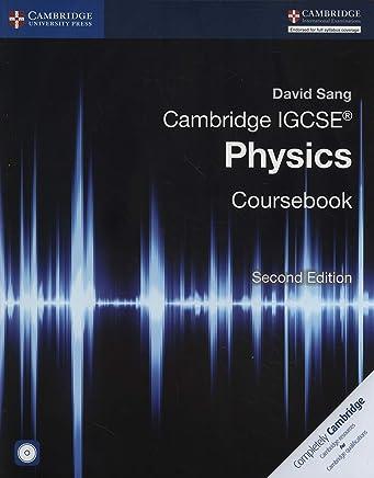 Cambridge IGCSE® Physics Coursebook with CD-ROM [Lingua inglese]