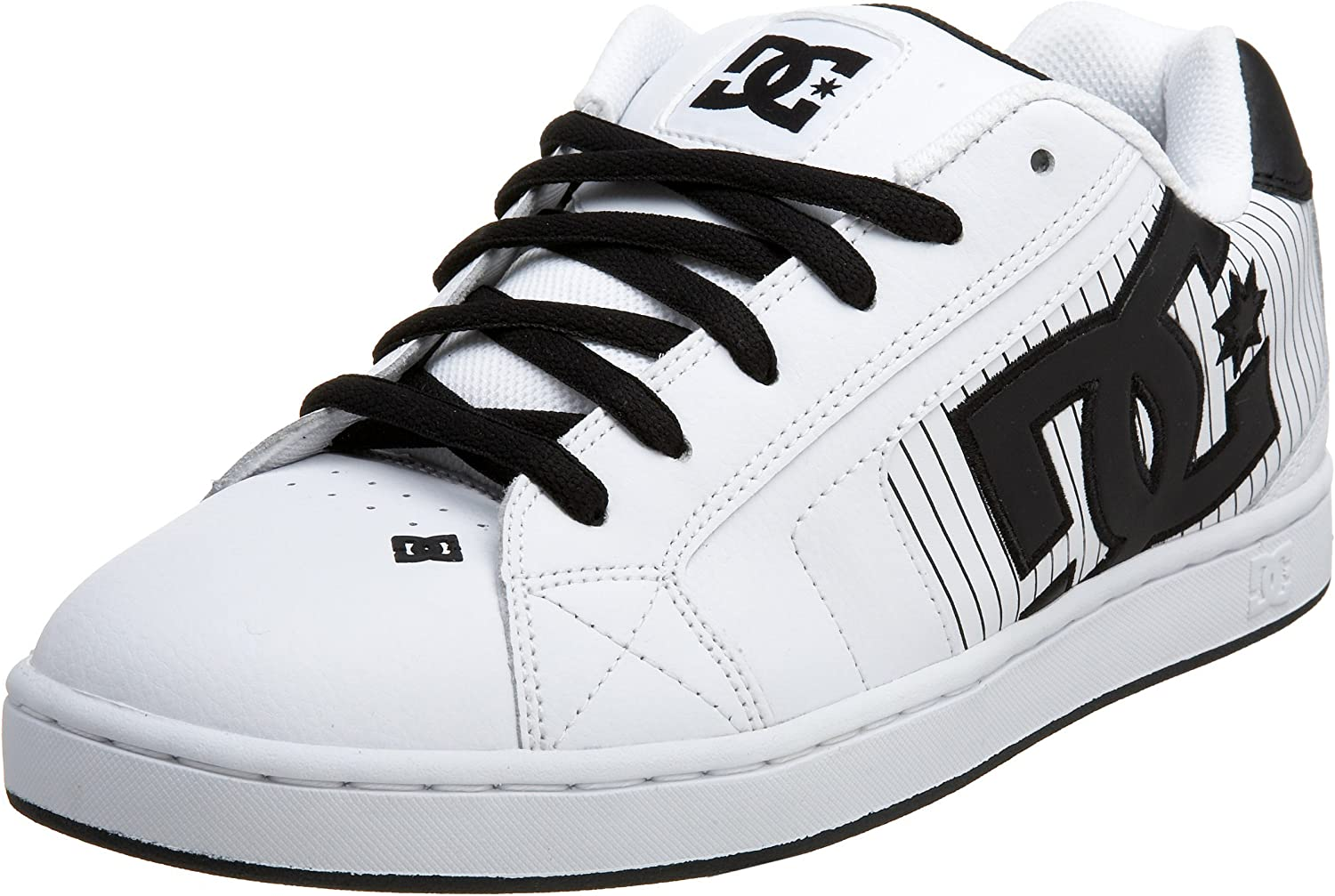 DC Men's Net Se-K, White Black