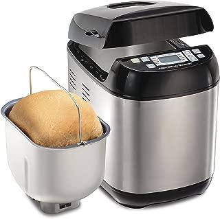 Hamilton Beach 29885 Artisan and Gluten-Free Bread Maker, 2 lb Capacity, Stainless Steel
