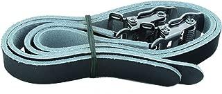 Ventura Black Leather Straps for Toe Clips