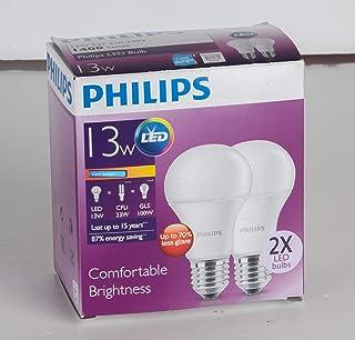 Philips LED Bulb 13-100W E27 Cool Daylight – 2 Pack,