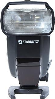 Starblitz SWAN60C 60 Flash Cobra con guías para cámara de Fotos réflex Canon, Color Negro