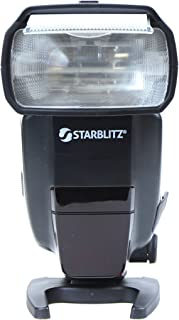 Starblitz SWAN90N Flash Cobra con guías 60 para cámaras de Fotos réflex Nikon, Color Negro