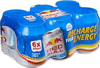 Red Bull 25% Less Sugar Energy Drink, 250ml (Pack of 24)
