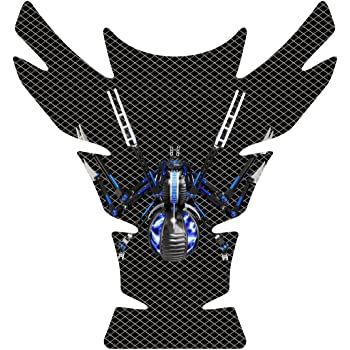 Universal Tank Pad 10 tall x 9.3 wide Fits Can Am Can-AM Spyder spider F3 American Flag Motorcycle Tank Pad Protector size 10 tall x 9.3 wide