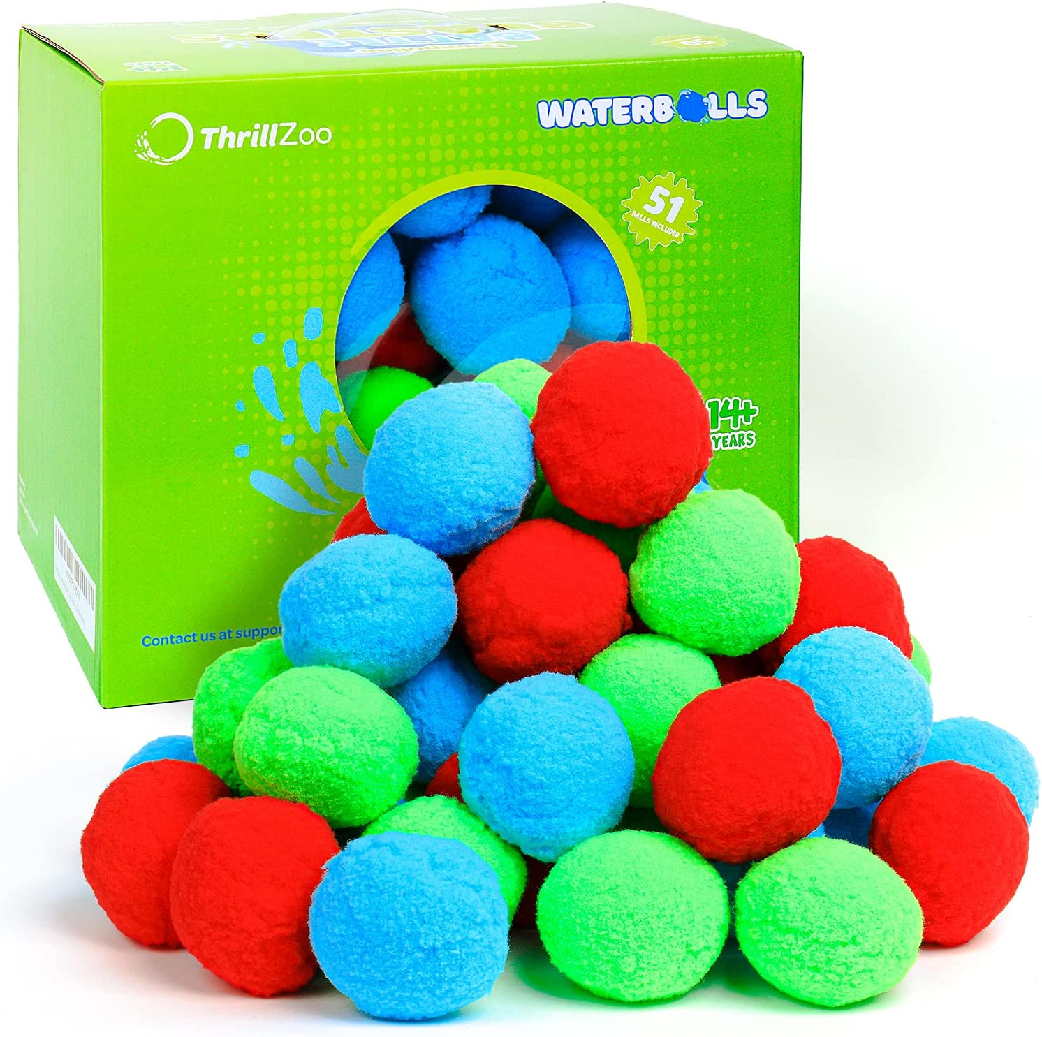 reusable water balloons, check out these from ThrillZoo