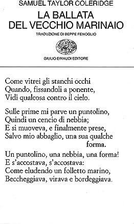 La ballata del vecchio marinaio (Collezione di poesia Vol. 5)