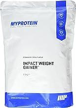 MyProtein 2500g Strawberry Impact Weight Gainer Blend