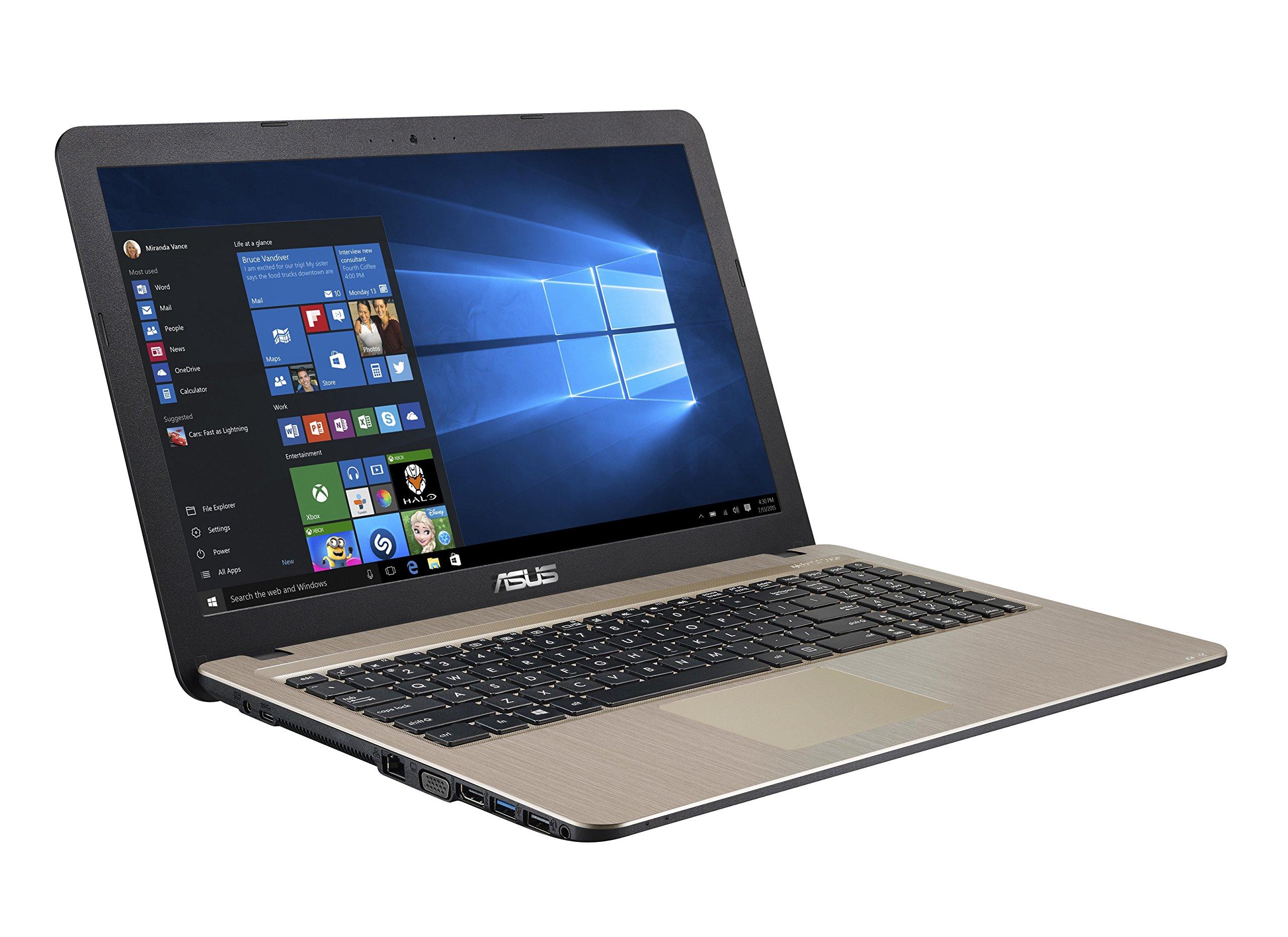 ASUS F540LA-XX274T – Ordenador portátil DE 39,6 cm (15,6 Pulgadas) (Intel Core i3 - 5005U, Memoria RAM de 8 GB, Disco Duro de 1 TB, Intel HD 5500, Windows 10 Home), Color Negro: Amazon.es: Informática