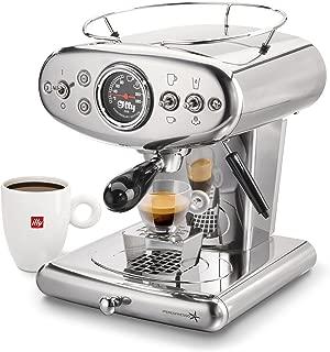 illy 60254 X1 Espresso Machine, 13 x 9.8 x 10.60, Stainless