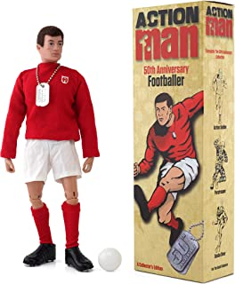 Action Man 50th Anniversary Edition - Footballer Adult Collector Doll