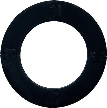 Bulls cible de fl/échettes avec anneau de protection 4 pi/èces