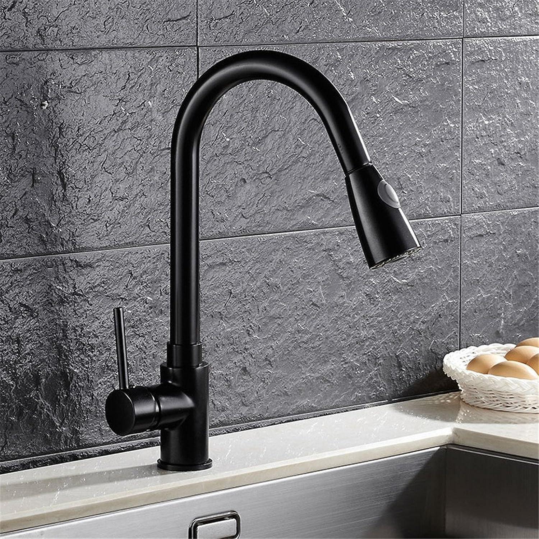 Continental-wide Copper Black kitchen faucet sink mixer