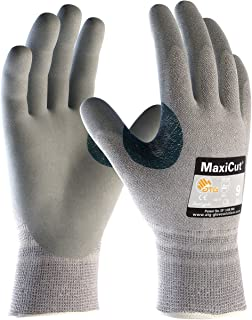PIP Protective Industrial Products 19-D470-L PIP 19-D470-L MaxiCut Nitrile Gloves, Gray, L, Gray