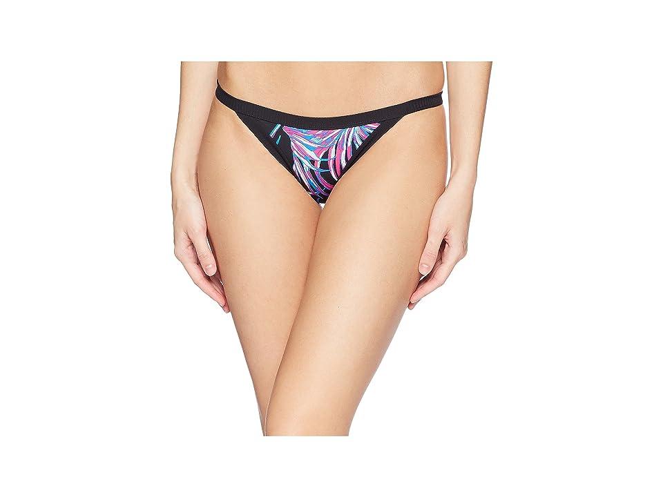 Hurley Quick Dry Koko Cheeky Surf Bottom (Black) Women
