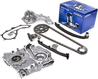 Water Pump Set Oil Pump Set for 95-04 Toyota 2.7L Tacoma 4Runner T100 3RZFE 3RZ-FE Engine New TK10140WPOP Timing Chain Kit with Balance Shaft Set