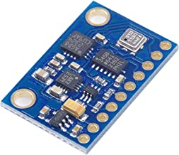 KNACRO 9-Axis Module 3-axis Gyroscope & Acceleration & Magnetic Field Pressure Module L3G4200D ADXL345 HMC5883L BMP180 3-5V IIC Four-axis Flight Control