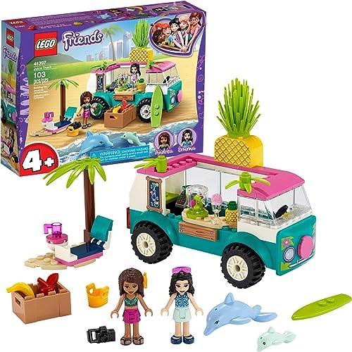 2021 LEGO Friends Juice Truck Truck 41397 Building Kit; Kids Food Truck Featuring Friends Emma Mini-Doll 2021 Figure, New 2020 lowest (103 Pieces) sale
