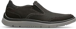 حذاء سهل الارتداء للرجال من كلاركس, (اسود), 8 UK