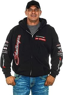JH DESIGN GROUP Men's Dodge Challenger Hoodies in 2 Styles Pullover & Zip Up