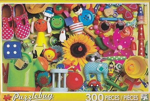 tiendas minoristas Puzzlebug 300 Piece Puzzle    Fun with Toys by Puzzlebug  punto de venta en línea