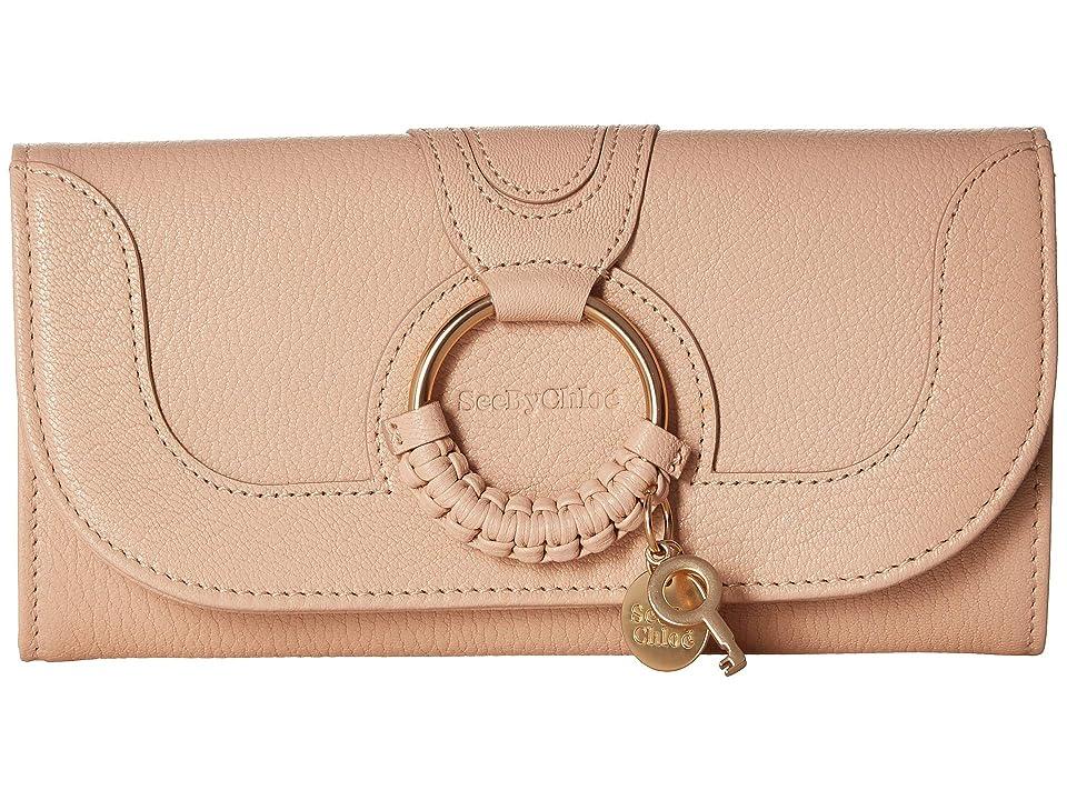 See by Chloe Hana Continental Wallet (Powder) Wallet Handbags