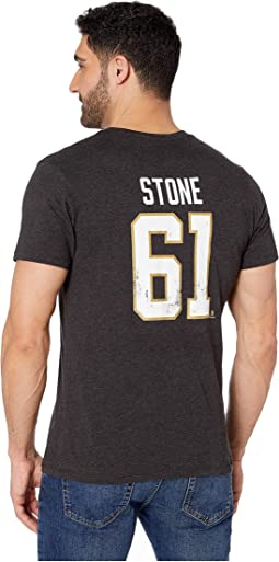 Vegas Golden Knights Stone Distressed MVP Club Tee
