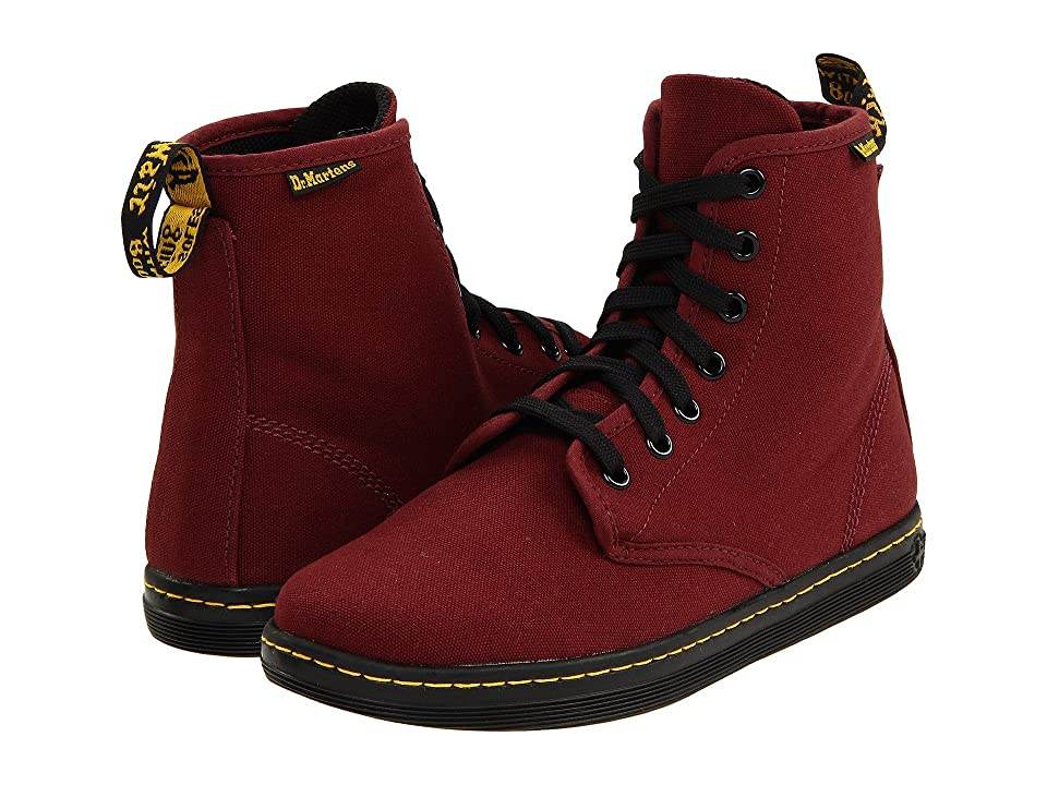 Dr. Martens Shoreditch (Cherry Red/Canvas) Women