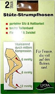 M& E 2Stück Stütz-Strumpfhosen 40DEN. Vitalisierend durch mittlere Kompression.
