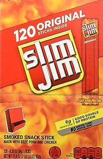 Slim Jim Original 1 Pack (120 - 0.28 Oz Each)