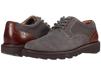 Nunn Bush Buchanan Plain Toe Oxford (Gray) Men