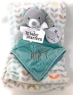 Baby Starters 2-Piece Snuggle Buddy and Blanket Set, Teddy Bear