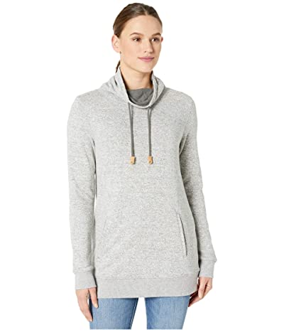tentree Yampa Long Sleeve Crew (Moonstruck Grey) Women