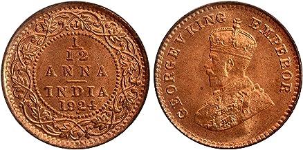 Arunrajsofia British India 1/12 Anna George V Coin