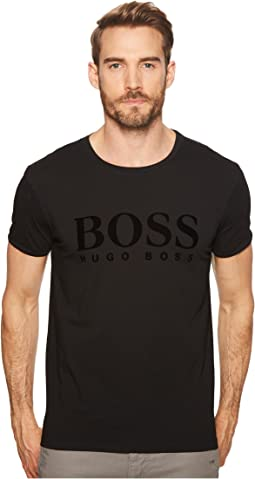 BOSS Orange Tomlouis Velvet Boss Logo T-Shirt