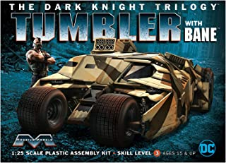 Moebius 967 The Dark Knight Trilogy Armored Tumbler with Bane 1:25 Scale Plastic Model Kit - Requires Assembly