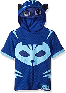 PJ MASKS Boys' Gekko and Catboy Hoodie and Tee