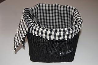Cesta de tela multiusos, ideal para guardar el pan y la bollería.