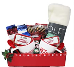 Baby It's Cold Outside Ultimate Snuggle Up Gift Basket | Christmas Couples Gift | Date Night In | Movie Night | Personalized Gift Card