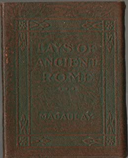 Lays of Ancient Rome; Little Leather Library; Green Redcroft Edition