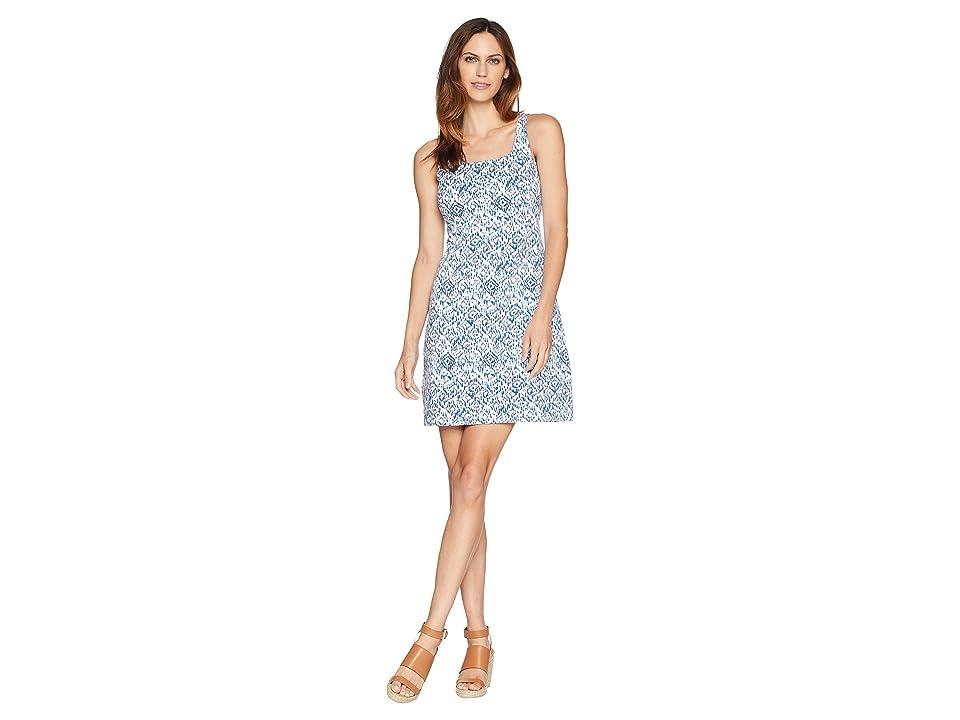 Tommy Bahama La Llorena Sleeveless Dress (Palace Blue) Women