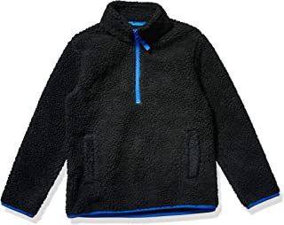 Amazon Essentials Quarter-Zip High-Pile Polar Fleece Jacket Niños